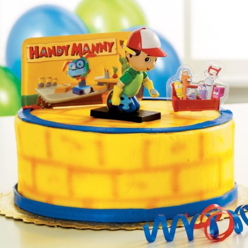 Price comparison product image Deco Pac - Handy Manny Cake Toppers