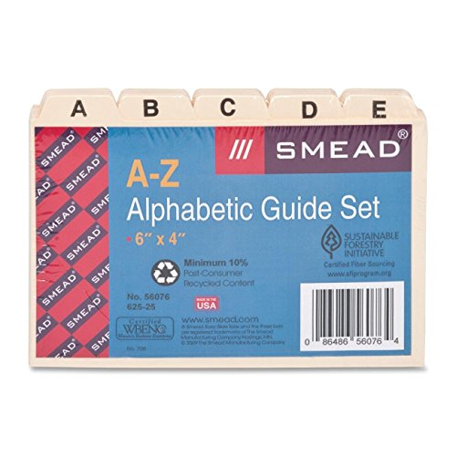 SMD56076 - Smead Self-Tab Card Guides
