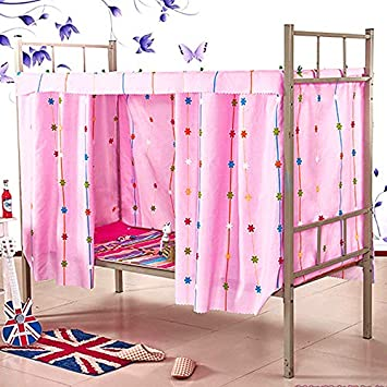 Heidi Galaxy Star Bed Canopy Single Sleeper Bunk Bed Curtain Student Dormitory Blackout Cloth Mosquito Nets Bedding Tent Bed Canopies Drapes Bedding Fcteutonia05 De