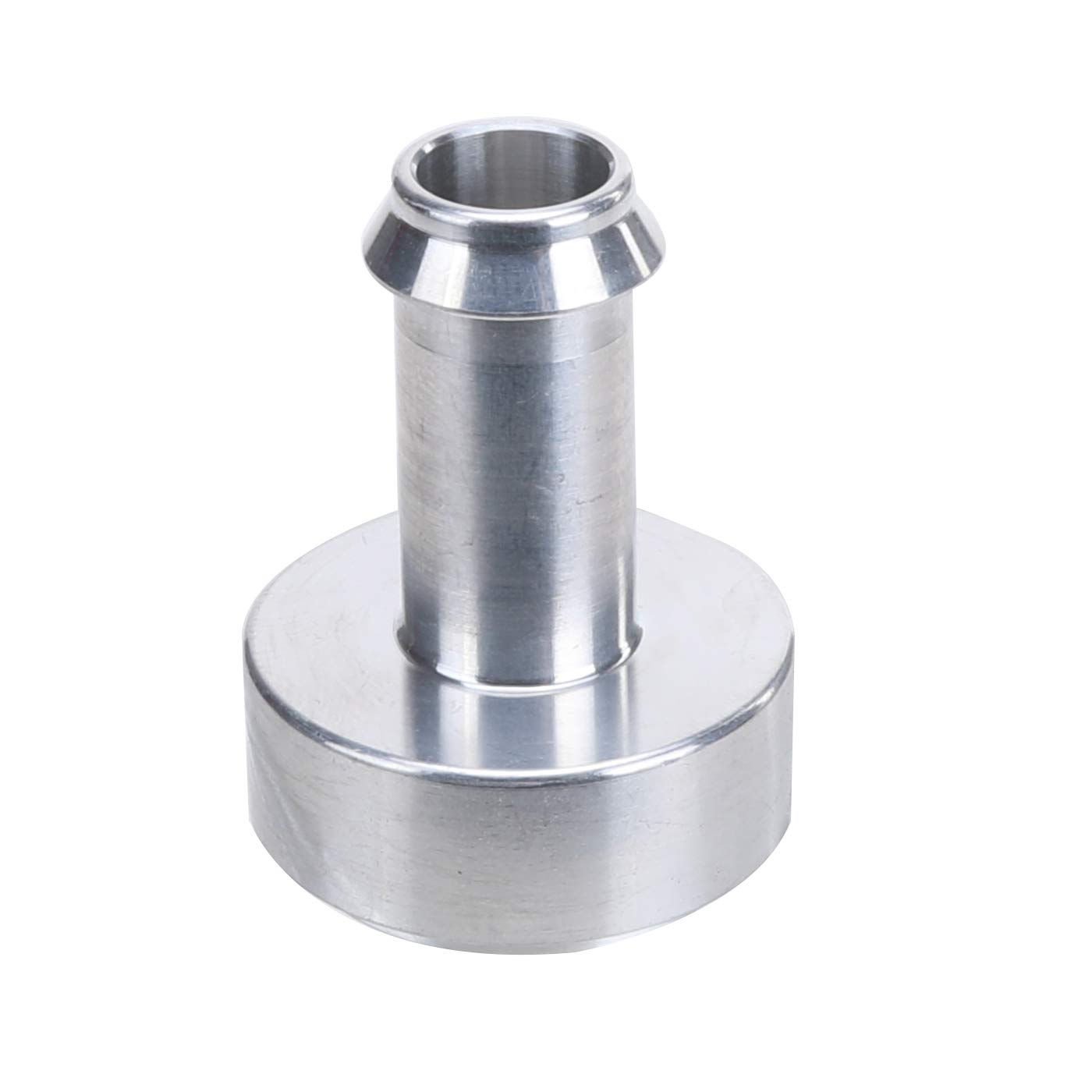 1//2 Weldable Fuel Tank Fitting Steel Female 1//2 NPT Weld On Bung Natural