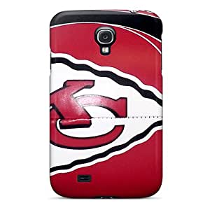 Hot GWdwe9787iJOhx Case Cover Protector For Galaxy S4- Kansas City Chiefs
