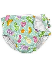 i play.... Baby Girls' Ruffle Snap Reusable Absorbent...