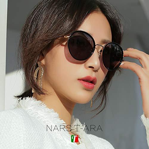 Gafas de sol Mujer Cara Retro 2019 Nuevo Marco Redondo Foto ...