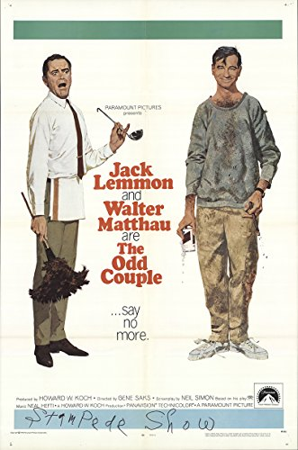 The Odd Couple 1968 Authentic 27