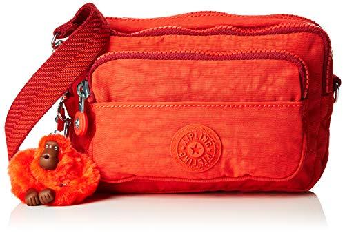 Kipling - Multiple, Shoppers y bolsos de hombro Mujer, Rojo (Active Red)