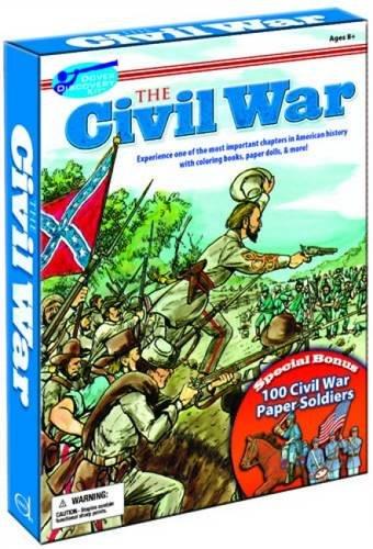 The Civil War Discovery Kit (Dover Fun Kits) (Kits Dover Fun)