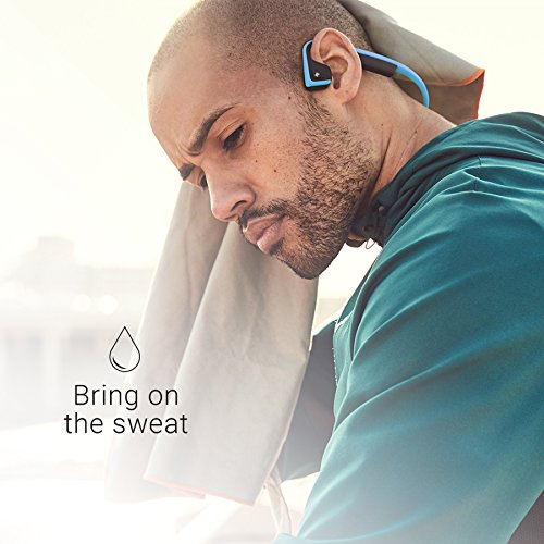 AfterShokz Trekz Titanium Mini Wireless Bone Conduction Bluetooth Headphones, Shorter Headband Size for Smaller Fit, Open-Ear Design, Slate Gray, AS600MSG by Aftershokz (Image #5)