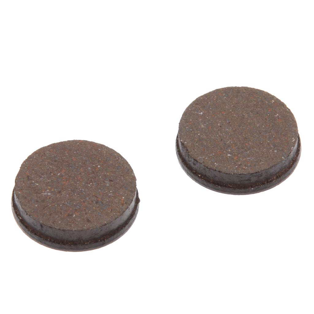 Sharplace 2 Piezas Pastillas Semimet/álicas para M365 Patinetes Scooter El/éctrico Pastillas de Freno de Negro