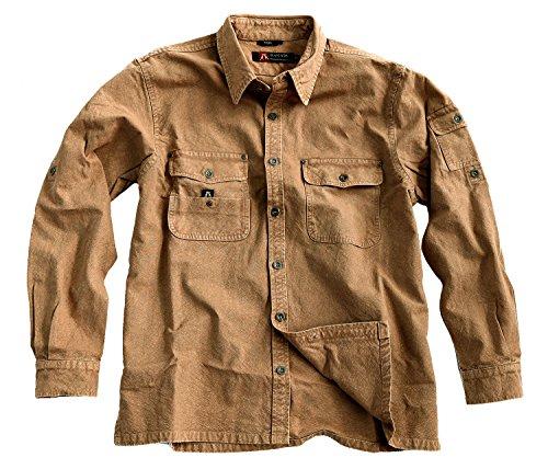 Kakadu Australia Toorak Outdoor Mens Over Shirt made from tough Canvas -