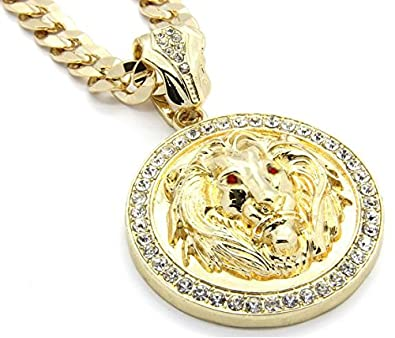 14k gold plated hip hop high fashion lion face w red eyes iced out 14k gold plated hip hop high fashion lion face w red eyes iced out pendant mozeypictures Image collections