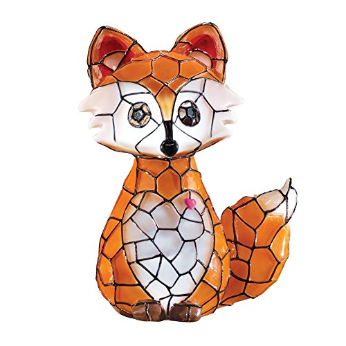 solar-faux-tiffany-stained-glass-fox