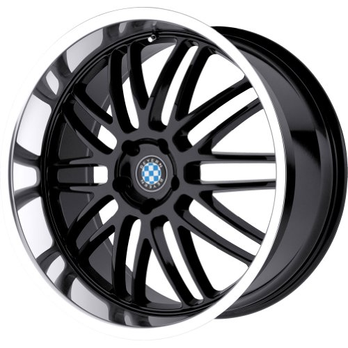 Beyern Mesh Gloss Black Wheel with Machined Lip (17x8