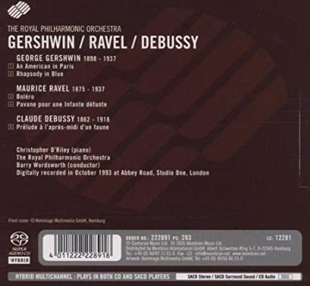 Rhapsody In Blue / Bolero: Royal Philharmonic Orchestra ...