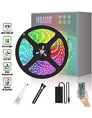 LED Strips 5M 5050SMD RGB Waterproof IR Control(150LED,300LED)