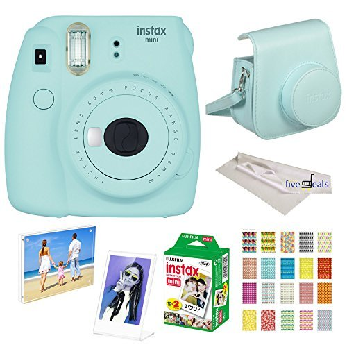 Used, Fujifilm Instax Mini 9 instant Fuji Camera ICE Blue for sale  Delivered anywhere in Canada