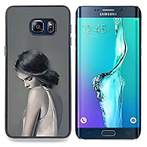 "Planetar ( Pink Stars Besos corazones del amor de San Valentín"" ) Samsung Galaxy S6 Edge Plus / S6 Edge+ G928 Fundas Cover Cubre Hard Case Cover"