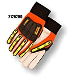 (12 Pair) Knucklehead Driller X10 Glove, Orange, Size Large (21262HO)