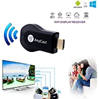 WiFi 1080P Full-HD HDMI TV Stick AnyCast DLNA Wireless Airplay Dongle
