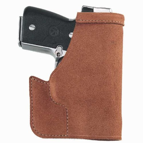 Galco Pocket Protector Holster for S&W J Frame 640 Cent 2 1/8-Inch .357 (Natural, Ambi) ()