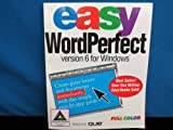 Easy WordPerfect for Windows Version 6, O'Hara, Shelley, 1565292308