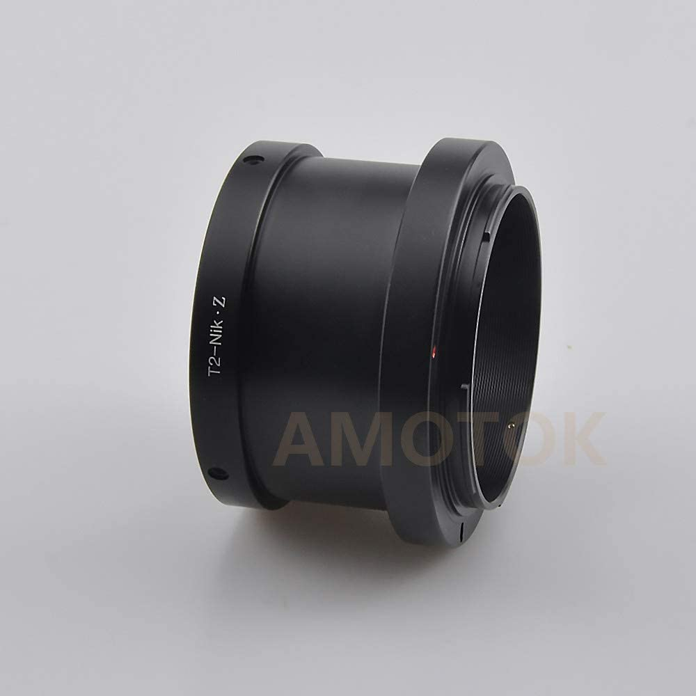 T2 to Z250 Camera Adapter,T2 T-Mount telephoto Lens to for Nikon Z Mount Z6 Z7 Full Frame Camera
