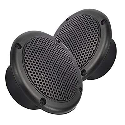 Magnadyne 3 INCH Dual Cone Speaker/Grill - Polypropylene Woofer Cone 2.8 oz Magnet Sold AS A Pair (Black): Home Audio & Theater