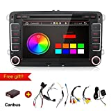 2G 32G 7 Inch Quad 4 Core Android 6.0 Kit Kat Double 2 Din in Dash Radio For Polo Golf Passat B6 B7 Jetta Tiguan Touran