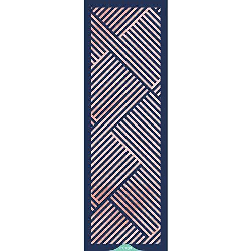 Rubber Yoga Mat (Theseus) MYOGA Yoga Starter Kits, Ceinture et Sling Thésée Myga Chakra en liège Tropical Tapis