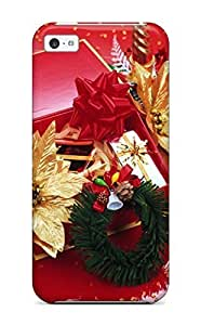 Faddish Phone Holiday Christmas Case For Iphone 5c / Perfect Case Cover