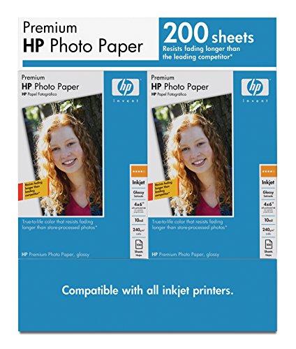 HP Premium Photo Paper, Glossy, 4X6, Q6561A (Ajays 4)
