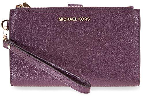 Michael Kors Adele Smartphone Wristlet - - Michael Purple Kors