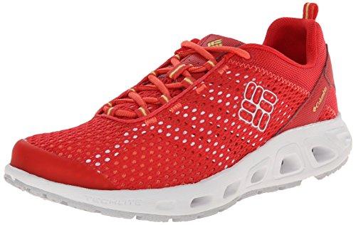 Red Women's Trail Hibiscus Columbia Drainmaker III Sunnyside Shoe XTwHH7Aq