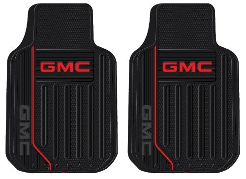 GMC Logo Elite Series Front Seat Car Truck SUV Rubber Floor Mats