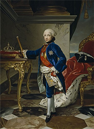 'Mengs Anton Rafael Fernando IV Rey De Napoles 1760 ' Oil Painting, 18 X 25 Inch / 46 X 62 Cm ,printed On Polyster Canvas ,this Imitations Art DecorativePrints On Canvas Is Perfectly Suitalbe For Garage Gallery Art And Home Artwork And Gifts