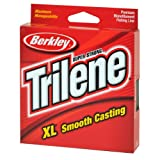 Berkley Trilene XL Smooth Casting Monofilament Spool, Low Visibility Green