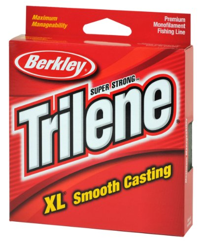 Berkley Trilene XL Smooth Casting Monofilament Service Spools (XLPS2-15), 110 Yd, pound test 2 - Clear (Spool Service)