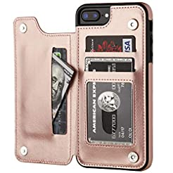 iPhone 7 Plus iPhone 8 Plus Wallet Case ...