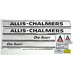 Allis-Chalmers 180 Complete Decal Set