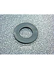 Arandelas de goma de repuesto planas negras de 1/2 pulgada para varios accesorios de fontanería