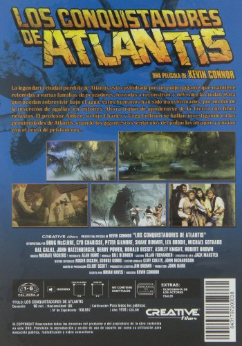 Warlords of Atlantis (1978) ( Warlords of the Deep ) [ NON-USA FORMAT, PAL, Reg.0 Import - Spain ]
