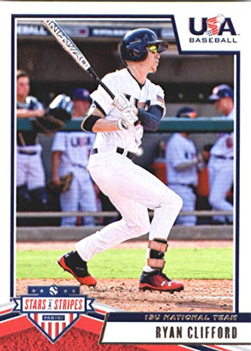 2019 Panini Stars and Stripes #59 Ryan Clifford USA Baseball 15U National Team Baseball Card