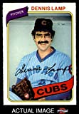 1980 O-Pee-Chee # 129 Dennis Lamp Chicago Cubs (Baseball Card) Dean's Cards 6 - EX/MT Cubs