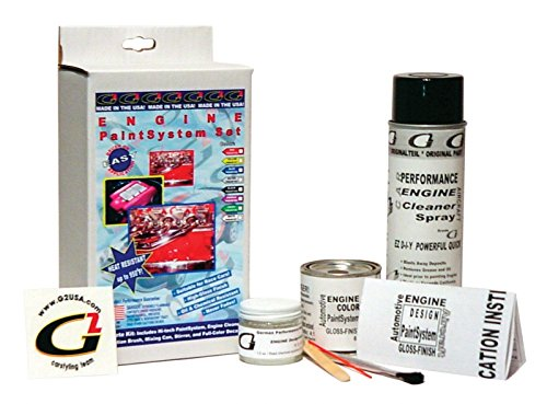 G2 High Heat Temperature Engine Paint Kit system Set Black Made in the USA by G2 (Image #1)