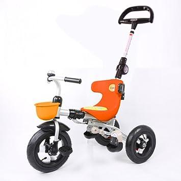 Triciclos Trike Kids 3 Wheels niños Bicicleta 1-4 años Carrito para bebés Trolley Bicicleta para niños (Color : Naranja) : Amazon.es: Juguetes y juegos