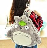 E-Trade(TM) My Neighbor Totoro Backpack Bag Plush Doll 3D Design 18
