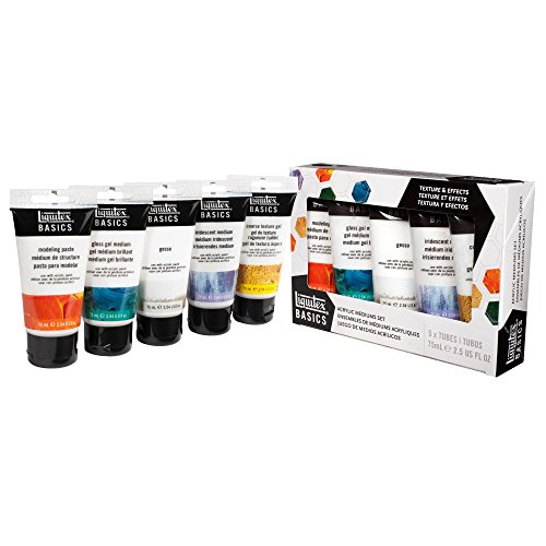 Liquitex BASICS Acrylic Medium Starter Set (Texture Set)