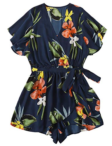 Which is the best floral jumpsuit for women plus size?