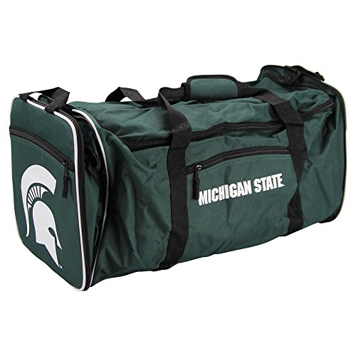NCAA Team Logo Extended Duffle Bag (Michigan State (Ncaa Gym Bag)