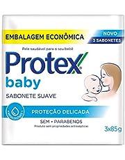 Protex BABY Sabonete Infantil para Bebês 3 unidades com Desconto