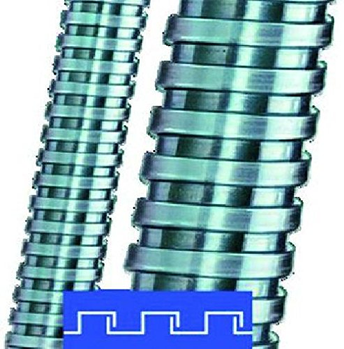 Flexa Metallschutzschlauch SPR-AS AD14/10m Stahl, vz, VDE SPR-AS Metall-Schutzschlauch 4025113116376 1011111011